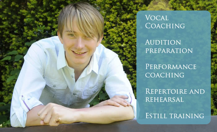 James Grimsey vocal coach covent garden Milton Keynes